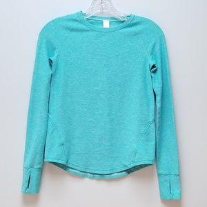 Ivivva by Lulu Lemon Turquoise Girls Top Size 10